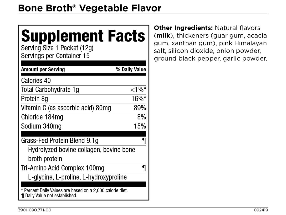 Collagen Bone Broth + Vitamin C