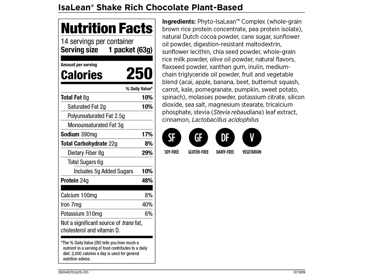 IsaLean Shake - Meal Replacement Shake